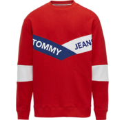 Tommy Hilfiger Sweater logo Rood, Blauw, Wit (DM0DM06041 - 667)