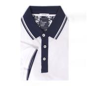 Tresanti Polo shirt piqué wit (TCPODB005A)