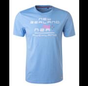 New Zealand Auckland T-Shirt Laffy Spring Blue (19BN702 - 280)