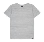 Dstrezzed T-shirt Gestreept Wit (202354 - 104)