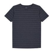 Dstrezzed T-shirt Gestreept Navy (202354 - 635)