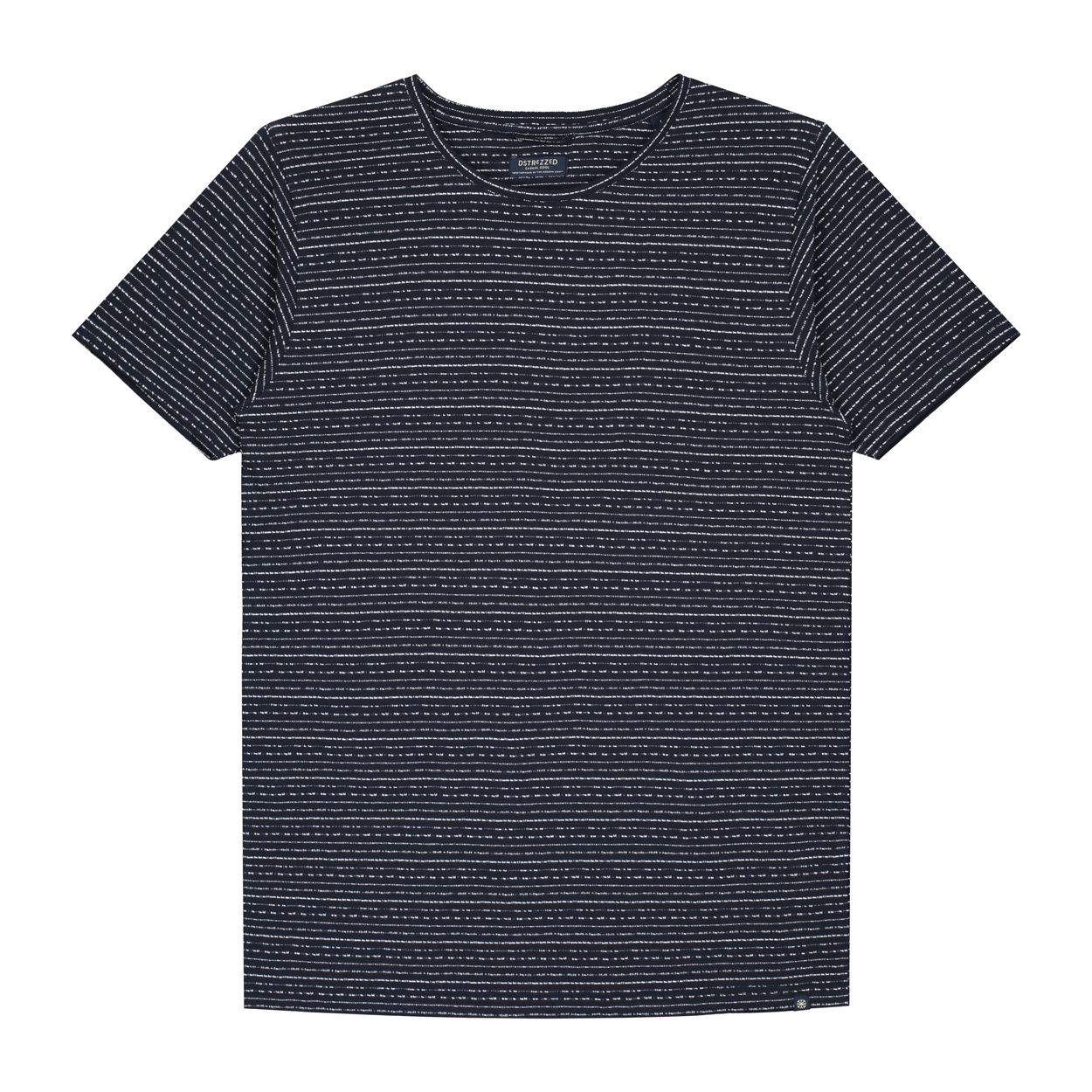 Dstrezzed T-shirt Gestreept  M