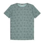 Dstrezzed T-shirt Print Parrot Licht Groen (202378 - 521)