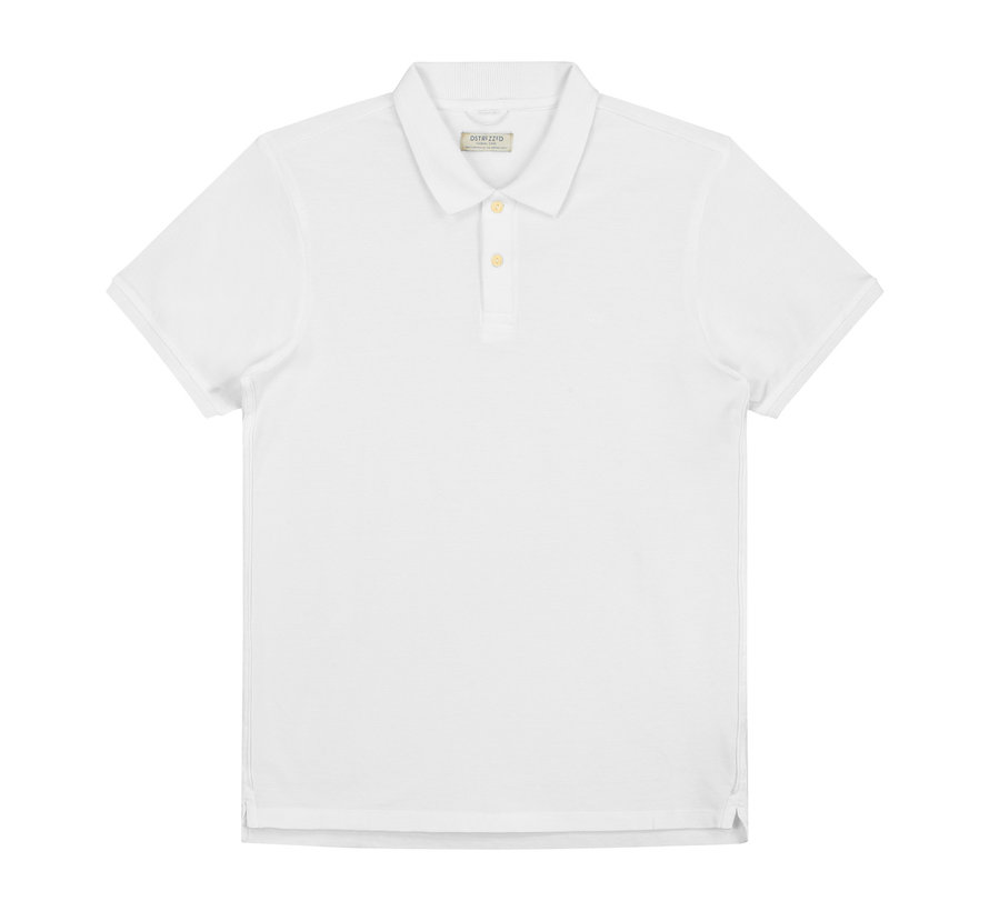 Polo Korte Mouw Wit (202380 - 100)