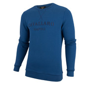 Cavallaro Napoli Sweater Morki Blauw (2091004 - 60000)