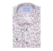Tresanti Overhemd Basic Fit Wit Met Bloemenprint (TCSHDA076A)