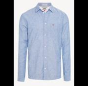 Tommy Hilfiger Linnen Overhemd Blauw (DM0DM06008 - 002)
