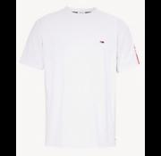 Tommy Hilfiger Sleeve Print T-Shirt Wit (DM0DM06082 - 100)