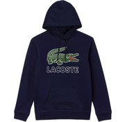 Lacoste Hooded Sweater Logo Navy (SH6342 - 166)