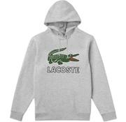 Lacoste Hooded Sweater Logo Grijs (SH6342 - CCA)