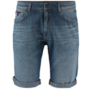New Zealand Auckland Jeans Short Regular Fit Medium Stone Wash (19CN636 - 355)