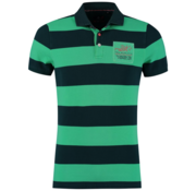 New Zealand Auckland Polo Groen Streep (19CN126 - 468)