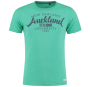 New Zealand Auckland T-Shirt Groen Tekst  (19CN703 - 468)