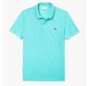 Lacoste Polo Korte Mouw Slim Fit Turquoise (PH4012 - D4J)