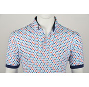 Culture Polo Modern Fit Print Multicolor (215065 - 85)
