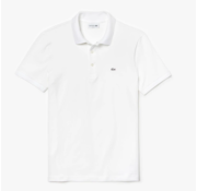 Lacoste Polo Korte Mouw Slim Fit Stretch Wit (PH4014 - 001)