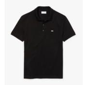 Lacoste Polo Korte Mouw Zwart Slim Fit Stretch (PH4014 - 031)