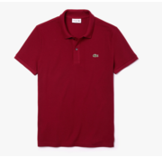Lacoste Polo Korte Mouw Slim Fit Bordeaux Rood (PH4012 - 476)