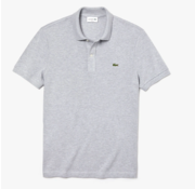Lacoste Polo Korte Mouw Slim Fit Grijs (PH4012 - CCA)