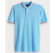 Scotch & Soda Polo Korte Mouw Blauw (149074 - 0765)