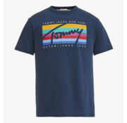 Tommy Hilfiger T-shirt Regular Fit Print Navy (DM0DM06079 - 002)