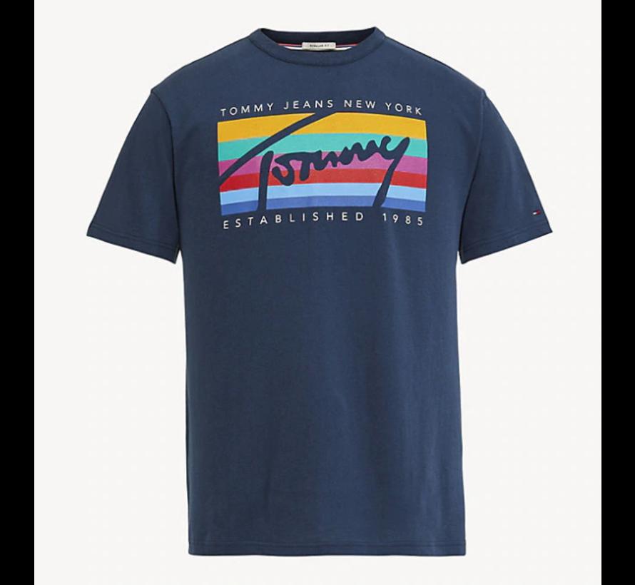 T-shirt Regular Fit Print Navy (DM0DM06079 - 002)