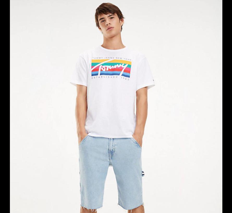 T-shirt Regular Fit Print Wit (DM0DM06079 - 100)