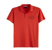 Scotch & Soda Polo Korte Mouw Rood (149082 - 2746)