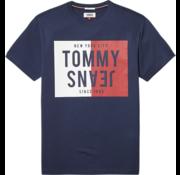Tommy Hilfiger T-shirt Print Navy (DM0DM04538 - 002)