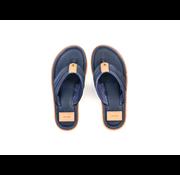 Rehab Slippers Raoul Perfo Indigo Blauw (1812 250505 - 7000)
