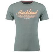 New Zealand Auckland T-shirt Waikiti Maori Groen (19DN700 - 453)