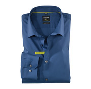 Olymp Overhemd No. Six Super Slim Fit Donker Blauw (2504 24 13N)