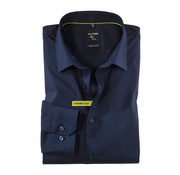 Olymp Overhemd No. Six Super Slim Fit Navy (2504 24 18N)