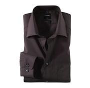 Olymp Strijkvrij overhemd Luxor Modern Fit Zwart (0300 64 68N)