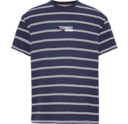 Tommy Hilfiger T-shirt Relaxed Fit Streep Navy (DM0DM06069 - 002)