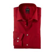 Olymp Strijkvrij Overhemd Luxor Modern Fit Rood (0300 64 38N)