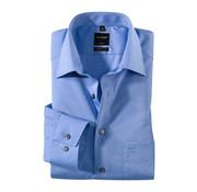 Olymp Strijkvrij Overhemd Luxor Modern Fit Blauw (0304 64 15N)