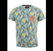 Superdry T-shirt Print Grijs/Multicolor (M10990NT - XPZ)