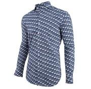 Cavallaro Napoli Overhemd Fenicottero Donker Blauw (1091028 - 63003)