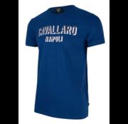 Cavallaro Napoli T-shirt Blauw (1791004 - 60000)
