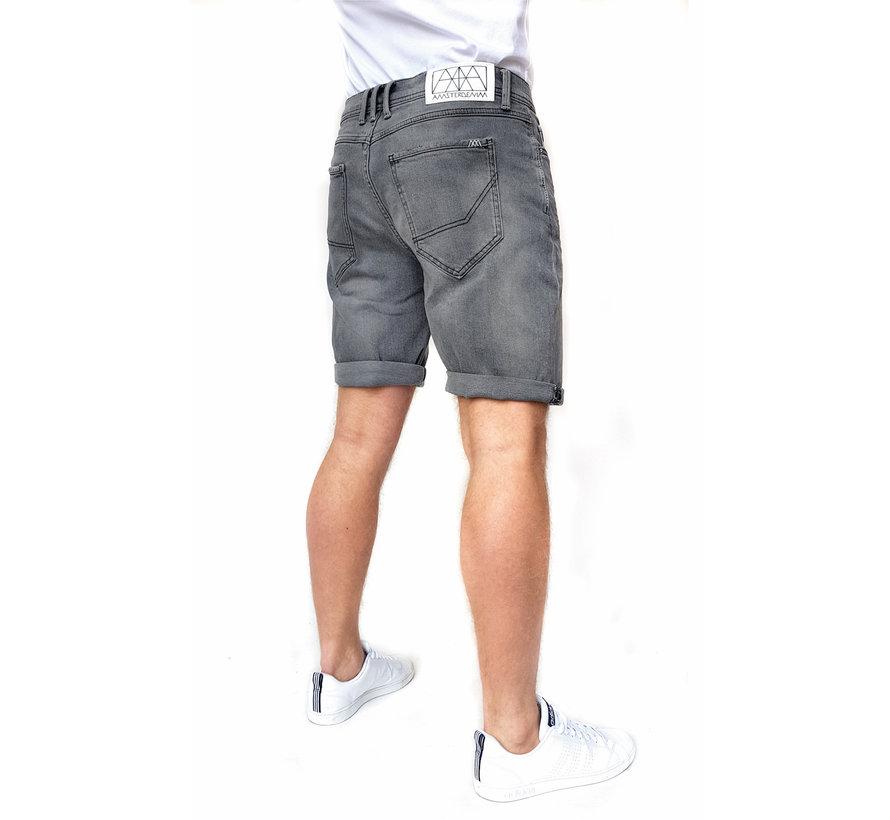 Jeans Short Grijs Mokum Betondorp  (AM1902 - 181907)