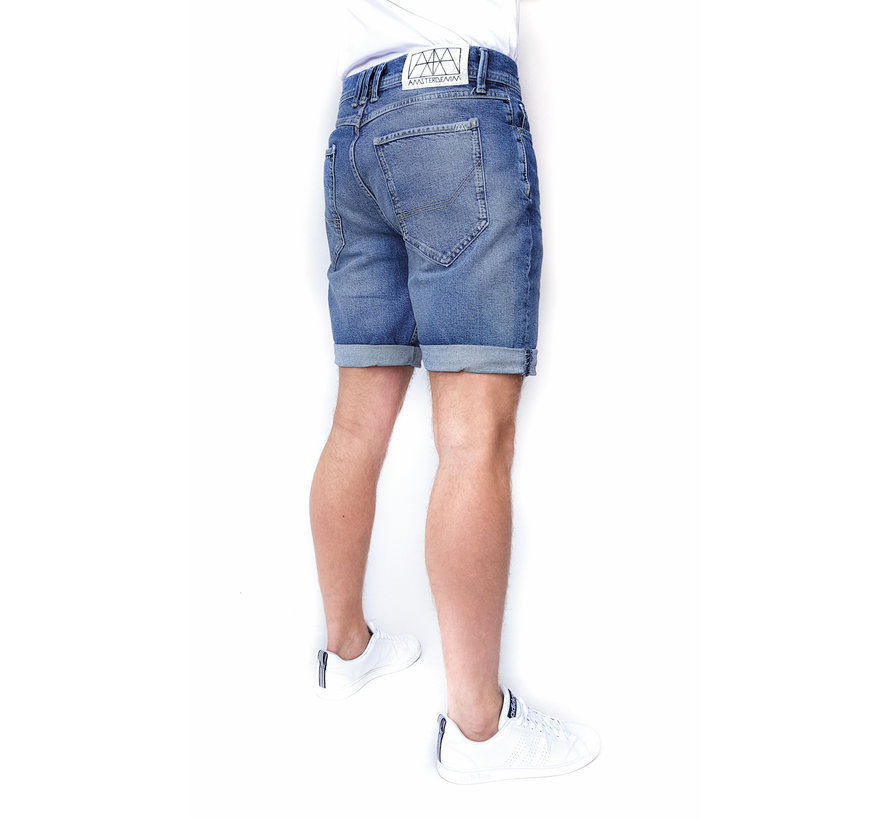 Jeans Short Mokum Steen (AM1902 - 180507)