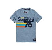 Superdry T-shirt Surf Team Blauw (M10100IU - T4M)