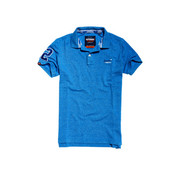 Superdry Classic Pique Polo Blauw (M11202RU - S4S)