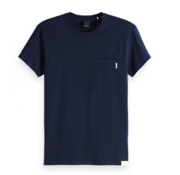 Scotch & Soda T-shirt Ronde Hals Navy (150540 - 57)