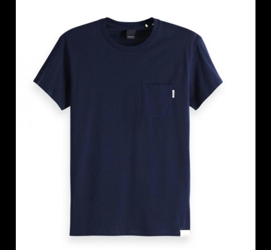 T-shirt Ronde Hals Navy (150540 - 57)