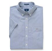 Gant Korte Mouw Overhemd Regular Fit Donkerblauw (3046501 - 423)