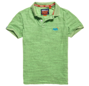 Superdry Orange Label Jersey Polo Groen  (M11206EU - QA6)