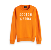 Scotch & Soda Sweater Oranje Met Logo (150525 - 2915)