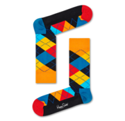 Happy Socks 1pack Sokken Argyle Multicolour (ARY01 - 0100)